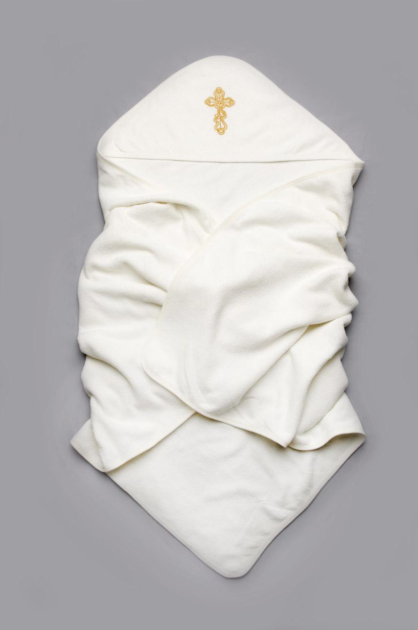 Крыжма махровая для крещения