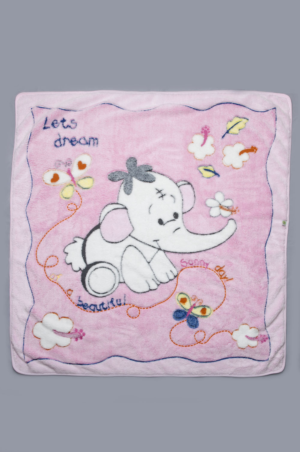 Одеяло детское для девочек