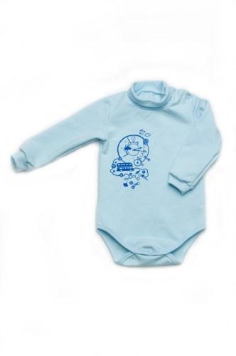 недорогой боди из футера для новорожденного мальчика