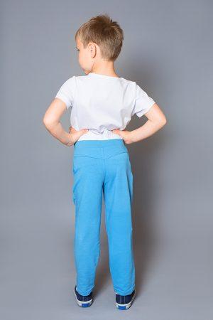 голубые брюки спортивные для мальчика купить Днепр