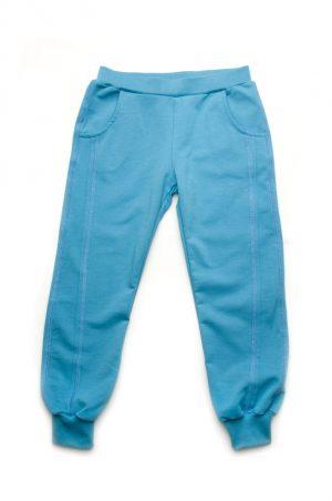 купить брюки спортивные на манжетах детские двунитка