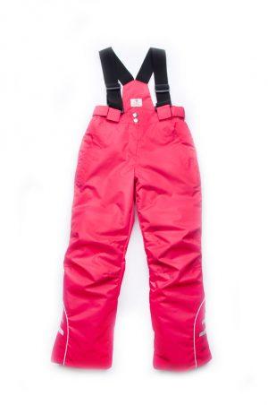купить детские зимние брюки на бретелях для девочки