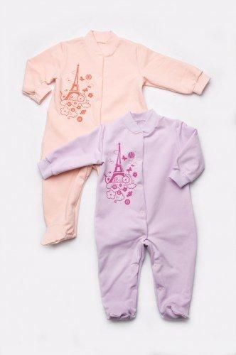 человечек для новорожденной девочки с длинными рукавами недорого