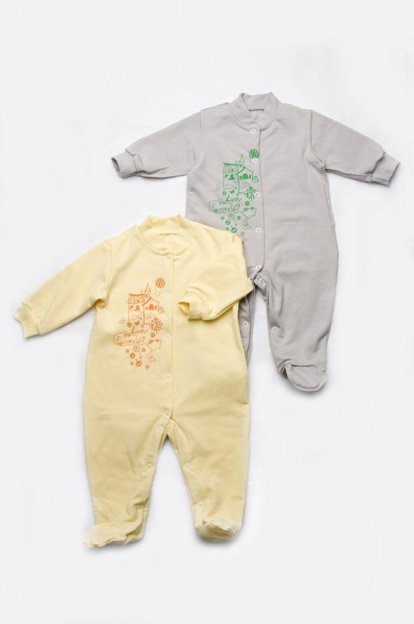 недорогой комбинезон человечек для новорожденных