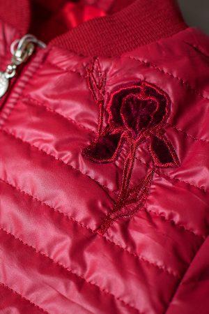 детская куртка с аппликацией цветок ирис купить недорого