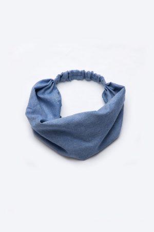 летняя косынка повязка джинсовая купить Украина