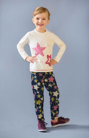 купить джинсы реглан звезды недорого для девочки