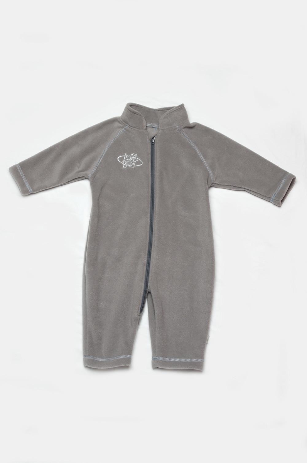 Флисовый комбинезон для мальчика серый купить в интернет-магазине 4e27a2ae16047