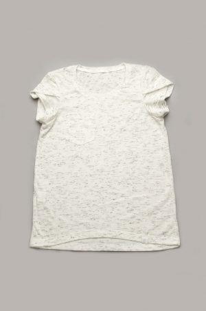 футболка белая меланж для девочки недорого