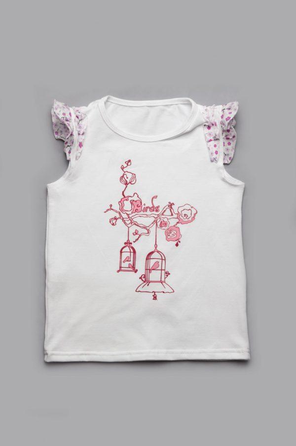 недорогая футболка для девочки купить Днепр