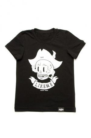 черная футболка для мальчика с пиратом недорого