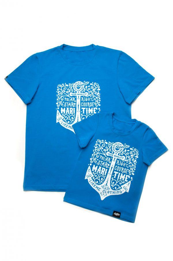 мужская футболка для папы сына купить