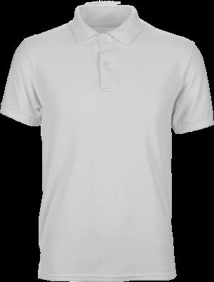 белая футболка поло мужская для брендирования