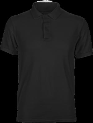 черная футболка поло мужская для брендирования