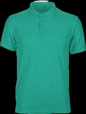 мужская футболка поло зеленая недорого