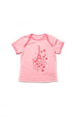 недорогая футболка для новорожденной девочки