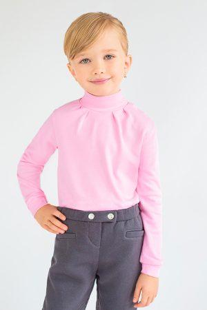 купить гольф розовый для девочки Киев