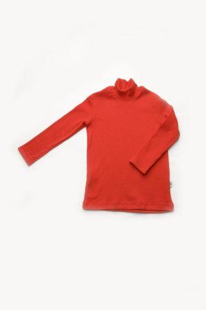 красный гольф для девочки рубчик недорого