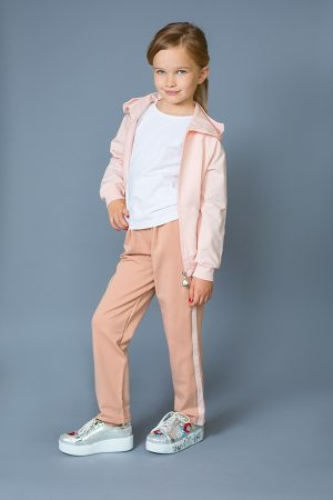 розовая спортивная кофта для девочки недорого