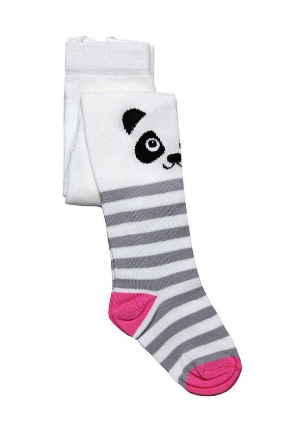 качественные колготы панда для девочки
