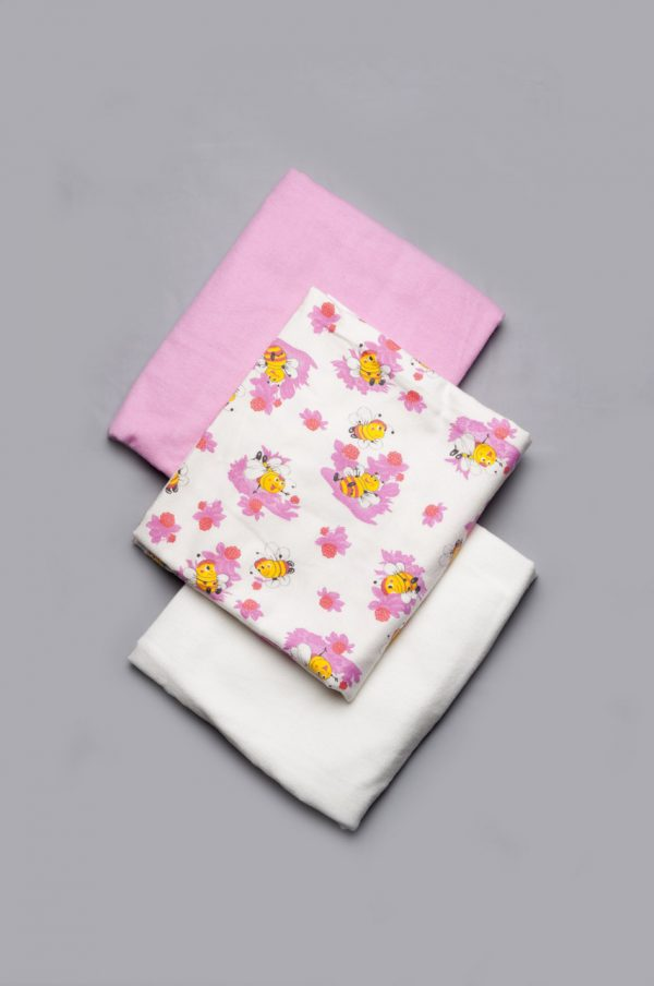 купить комплект пеленок для новорожденной девочки