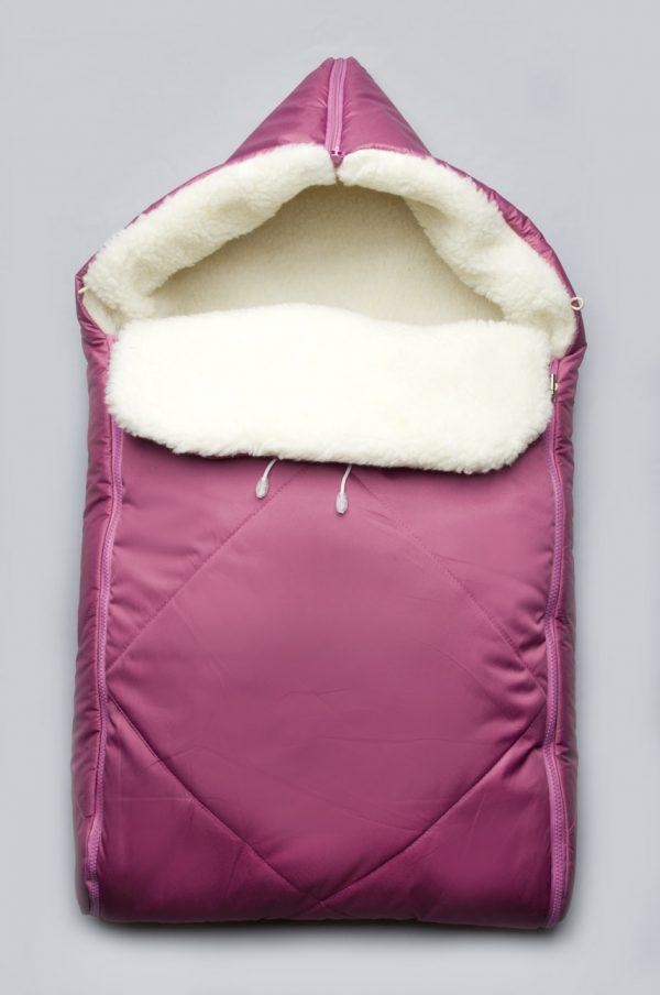 яркий зимний конверт для новорожденной недорого