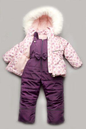 зимний костюм комбинезон для девочки купить