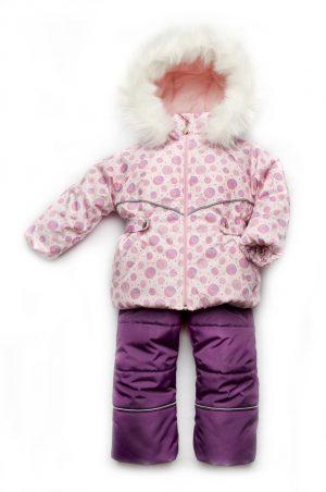 качественный костюм комбинезон зимний для девочки недорого