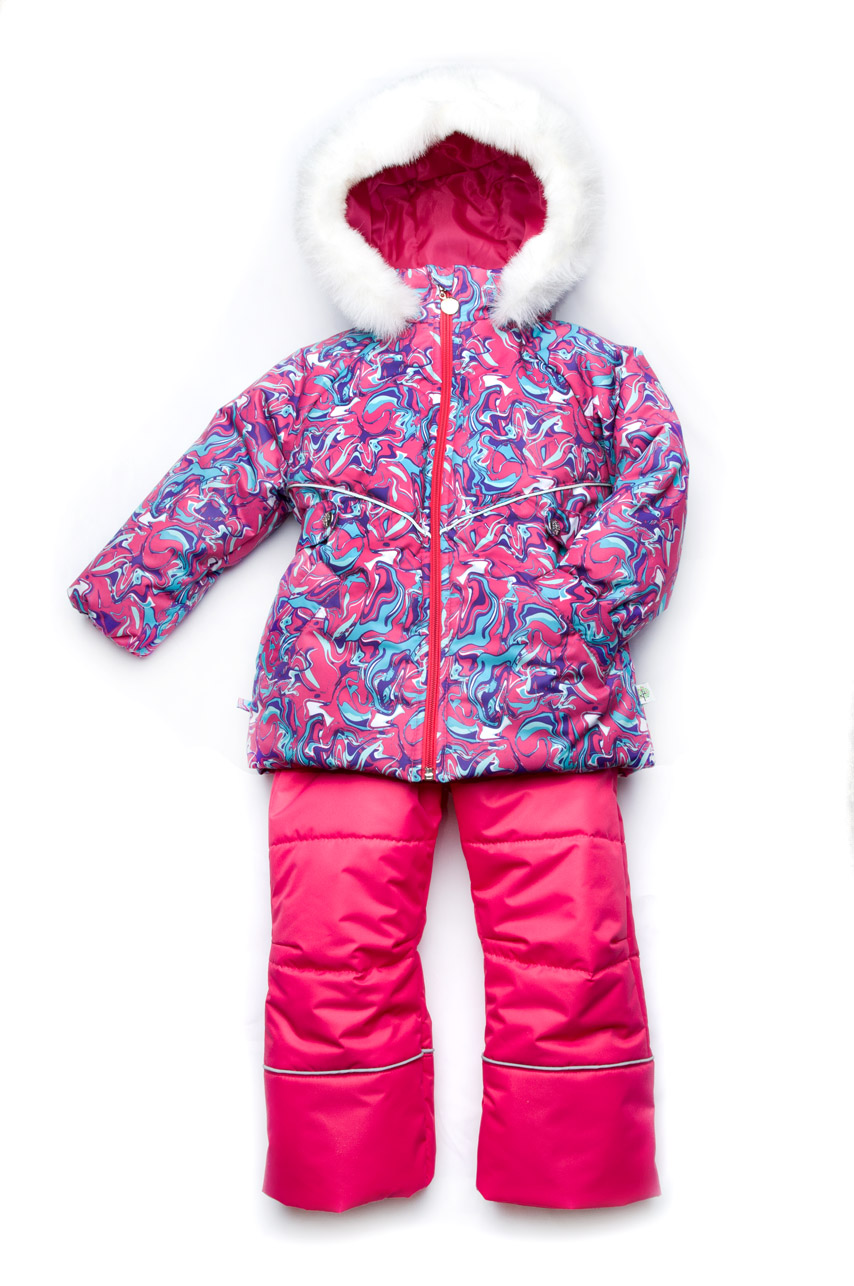 Детский зимний костюм для девочки непромокаемый куртка+полукомбинезон feb99864ea7b0
