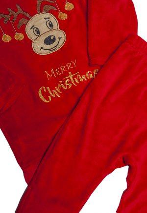 велюровый новогодний костюм для девочки купить от производителя
