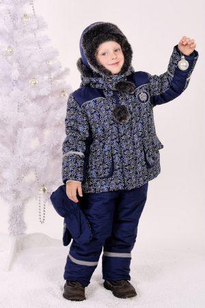 недорогой зимний костюм для мальчика