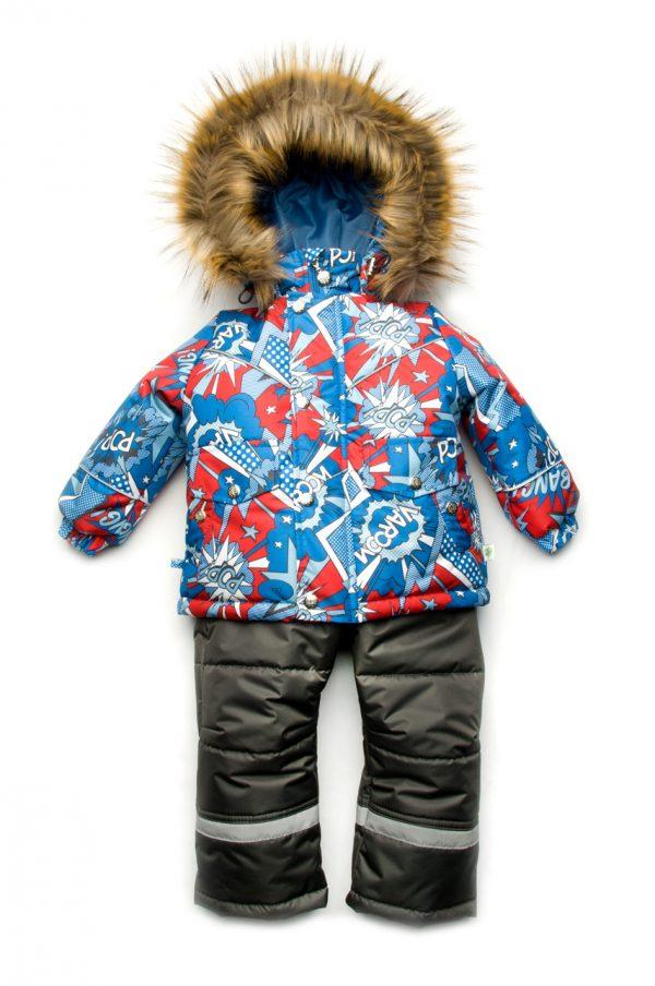 яркий костюм зимний мембрана для мальчиков