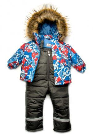 куртка полукомбинезон из мембранной ткани для мальчика