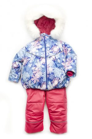 куртка полукомбинезон для девочки зима