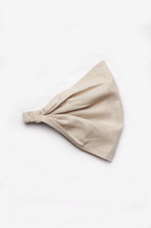 косынка повязка льняная для девочки недорого