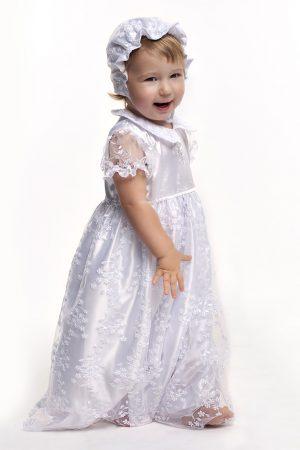 крестильное платье с гипюром купить