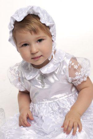 платье с гипюром для крещения купить Днепр