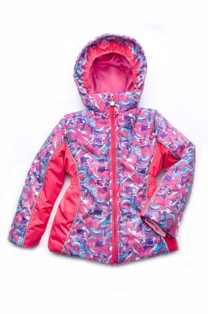 купить зимняя куртка для девочки мембранная ткань недорого