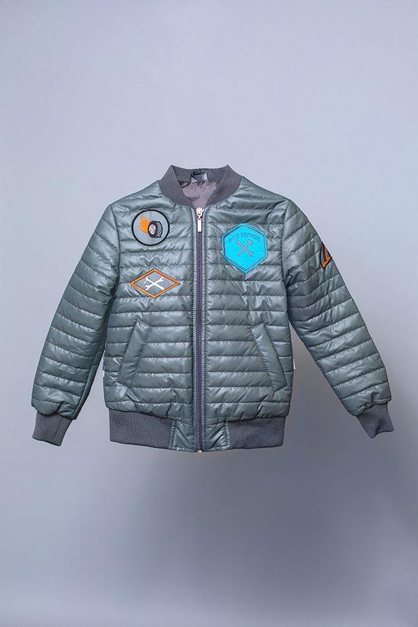 купить деми куртка для мальчика с шевронами механик