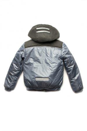 теплая куртка с капюшоном для мальчика