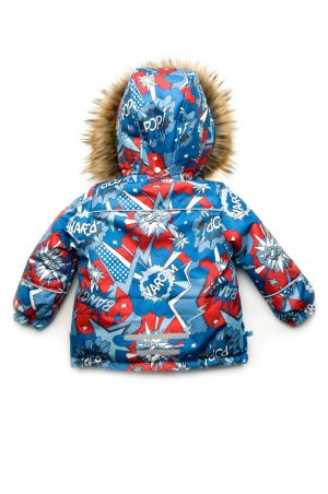 яркая куртка для мальчика мембрана зима