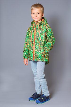 детская куртка с флисовой подкладкой для мальчика