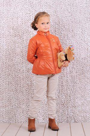 приталенная куртка для девочки демисезонная