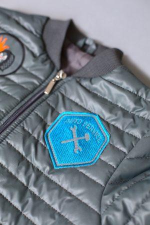 модная деми куртка для мальчика стеганая купить Днепр