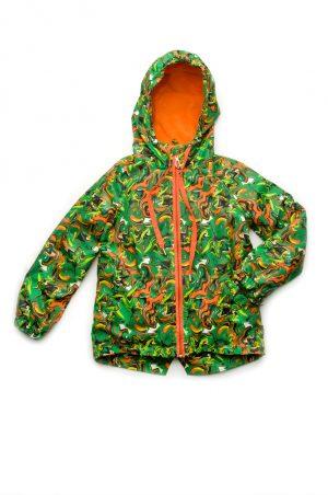зимняя куртка на флисе для мальчика недорого