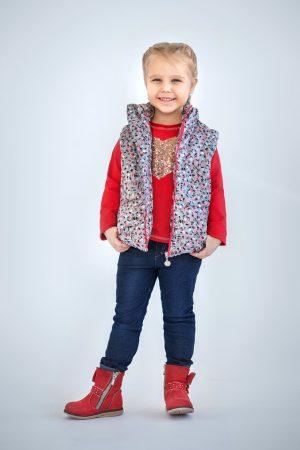 жилетка куртка трансформер для девочки