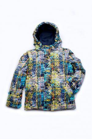 куртка жилетка деми для мальчика оригинальный принт недорого