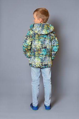 куртка с отстегивающимся капюшоном рукавами жилет для мальчика