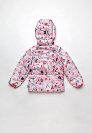 недорогая розовая куртка трансформер для девочки