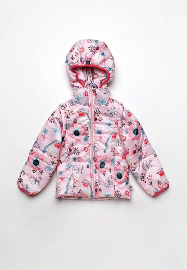 Детская куртка трансформер для девочки